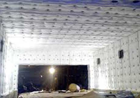 High Refractory Blanket Insulation for Furnace Heat Saving