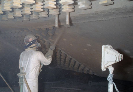 Construction of Insulating Castable Refractory